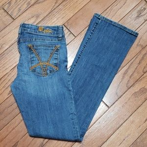 KUT from the Kloth Felicia Baby Bootcut EUC